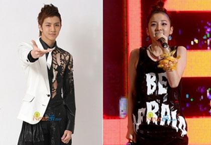 Thunder สมาชิกวง MBLAQ จะขึ้นแสดงกับSandara Park พี่สาวของเขา