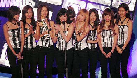 ผลการประกาศรางวัล Melon Music Award ปี 2009