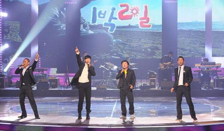 1 Night 2 Days บุกเวที KBS Gayo Daejun