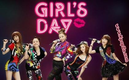 Girl's Day เปิดเว็บไซต์อย่างเป็นทางการ