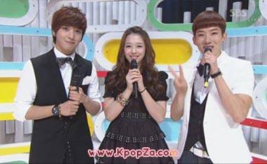 Sulli, Jo Kwon, Yonghwa สเปเชี่ยลสเต็จใน Inkigayo