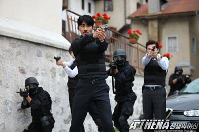 ภาพจากกองถ่าย Athena ในประเทศอิตาลี