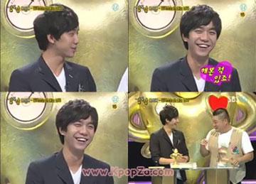 Lee Seung Gi เคยมีประสบการณ์จูบอันดูดดื่ม