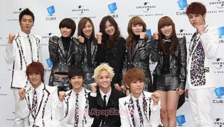 คลิปคอนเสิร์ต 4minute และ B2ST ในรายการ Music Bank<br />