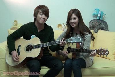Yonghwa และ Seohyun ในมิวสิควีดีโอ 'Banmal' จากใจแฟนเพลง