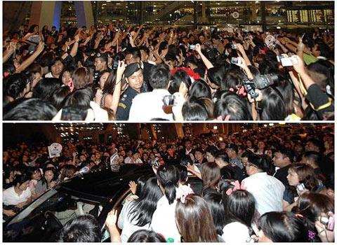 สุดหล่อมาแล้ว Jang Geun Suk in THAILAND !!!