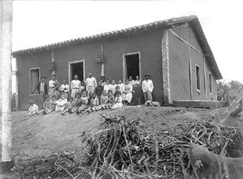 Primeiros moradores do Distrito da Corredeira