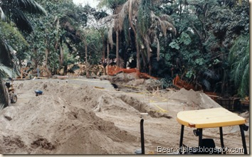Construction of the Indiana Jones Adventure
