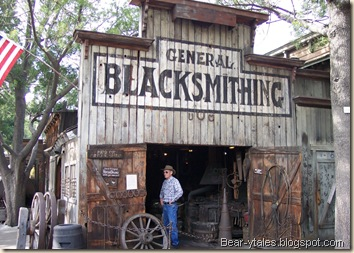 Knott's Ghost Town Blacksmith