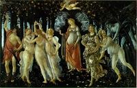 Botticelli, Alegoría de la primavera o La primavera