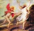 Cornelis  de Vos -   Apolo  y Dafne