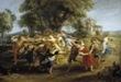 Rubens, Danza de personajes mitológicos y aldeanos