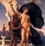 Frederick Leighton - Icaro y Dédalo