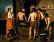 Velázquez - La fragua de Vulcano