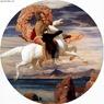 Lord Frederic Leighton, Perseo volando sobre Pegaso en rescate de Andrómeda