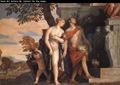 Veronese, Venus y Marte presentean a Eros y Anteros a Júpiter
