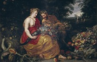 Rubens, Ceres y Pan