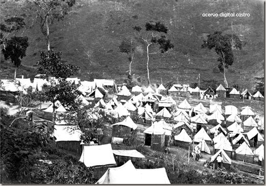acampamento alemães
