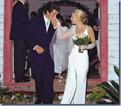 John F. Kennedy Jr wedding