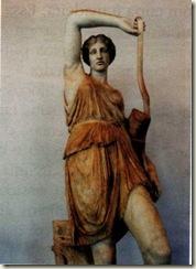 Amazona ferida. Cópia romana de um original grego em mármore (Período Clássico, 450 a. C)