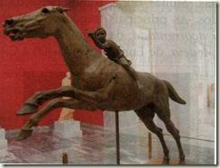 Jóquei de Artemísion (Período Helenístico, 140 a. C.).
