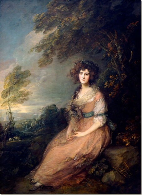 Mrs. Richard Brinsley Sheridan, Gainsborough, c. 1785
