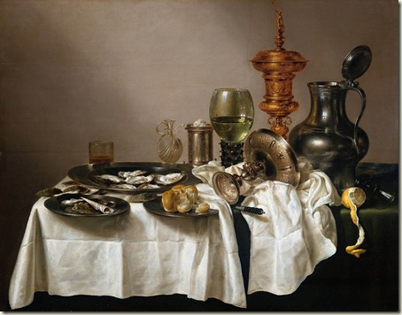 Natureza- Morta - Willem Claesz Heda, 1635