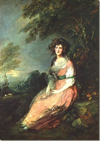 Mrs. Richard Brinsley Sheridan, Gainsborough