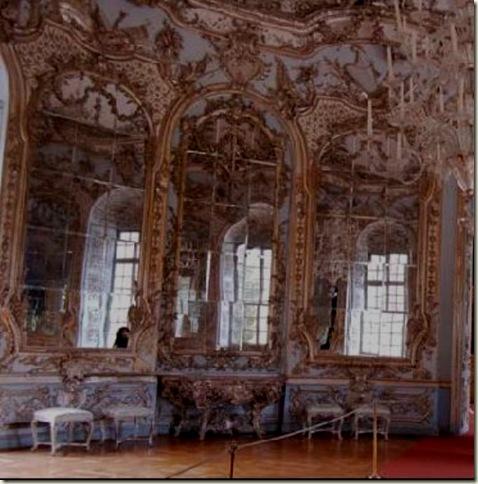 Salão dos Espelhos, François Cuvilliés 1734-39  Rococó