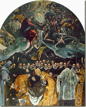 O Enterro do Conde Orgaz, El Greco
