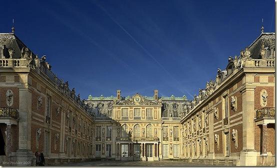 Palácio de Versalhes, vista parcial