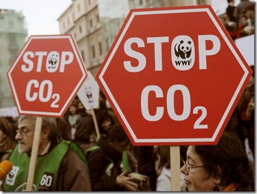 Protesto contra a emissão de gases que provocam o efeito estufa, Madrid, Espanha