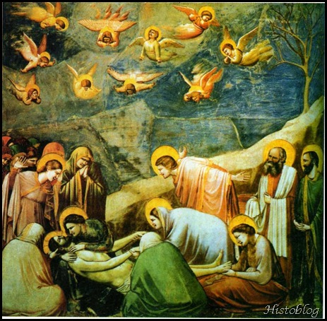 A lamentação - afresco de Giotto -
