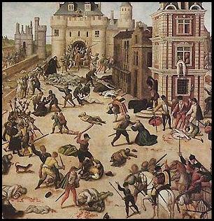 massacre_sbartolomeu - painel de François Dubois - Histoblog
