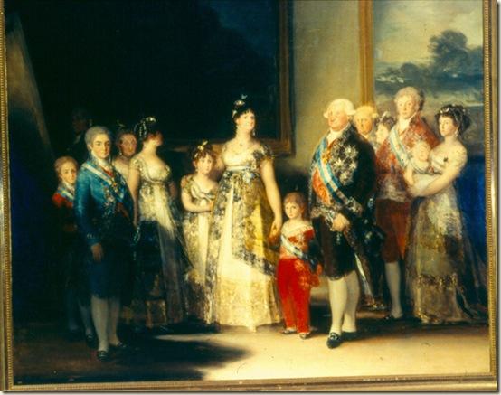 A família de Carlos IV, Goya, 1800