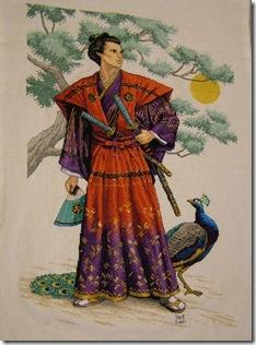 Samurai japonês