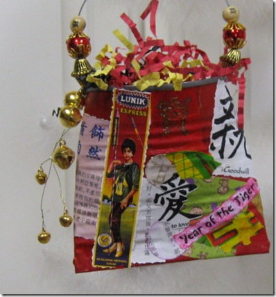 2010 Chinese New Year tree and pockets number 2 010