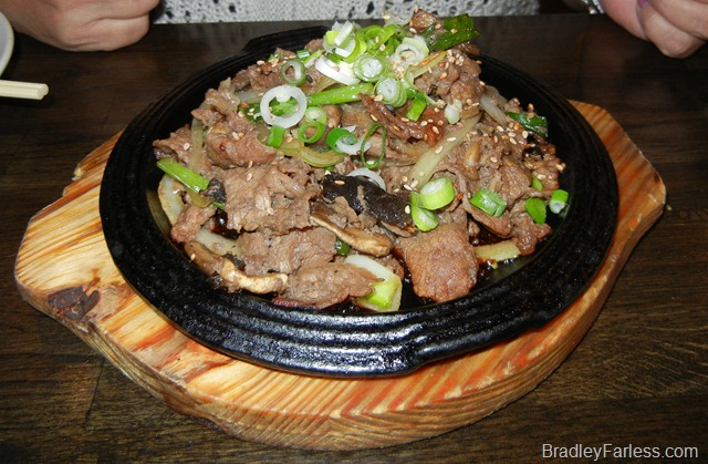 Beef bulgogi from Boka: Bon Chon on St. Mark's