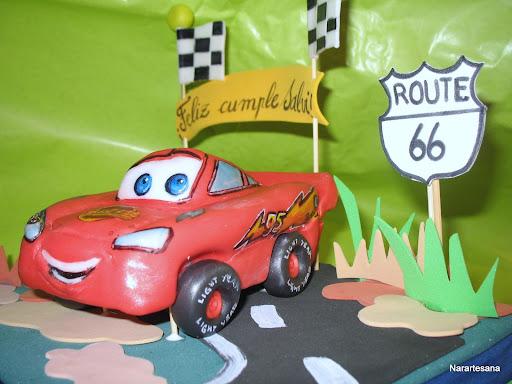 Cars - Rayo MCQueen Ruta 66