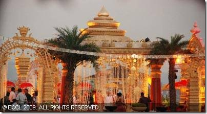 The-venue-of-Shilpa-Shetty-and-Raj-Kundras-wedding-ceremony