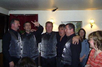 The Odmev Quartet from Zreče in the Sportsman's Inn