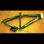 Bike Frame Da Bomb Molotov 2 - Dark Green