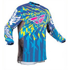 Motocross Jersey FLY Racing Kinetic Blue