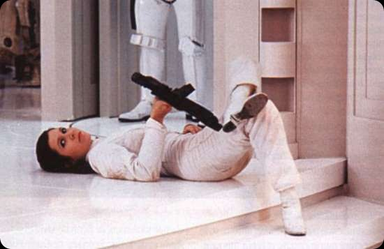 behind the scenes star wars episode iv CARRIE FISHER