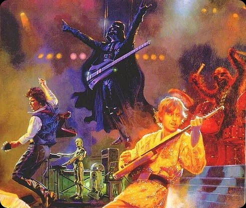 cool star wars photo rock band