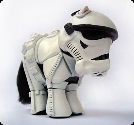 cool star wars photos cute pony trooper