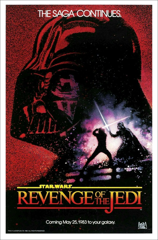 cool star wars photos rarest genuine revenge of the jedi movie poster