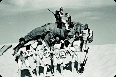 behind the scenes star wars episode iv