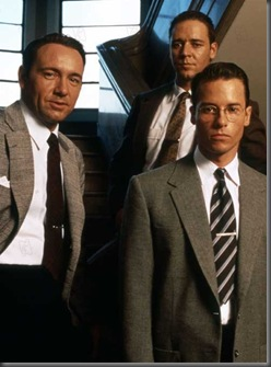 L.A. Confidential 1997 Réal. : Curtis Hanson  Kevin Spacey Russel Crowe Guy Pearce  Collection Christophel