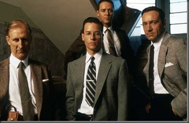 L.A. Confidential 1997 Réal. : Curtis Hanson  James Cromwell Guy Pearce Russel Crowe Kevin Spacey  Collection Christophel